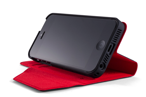 Soft Tec Wallet for Apple iPhone 5 5S
