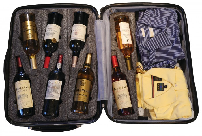 GearDiary VinGarde Valise Wine Suitcase Gets Bottles There Intact