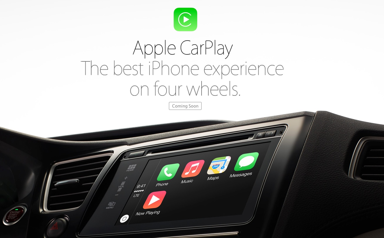 GearDiary Apple Announces CarPlay - a Smarter, Safer Way to Use Your iPhone in the Car