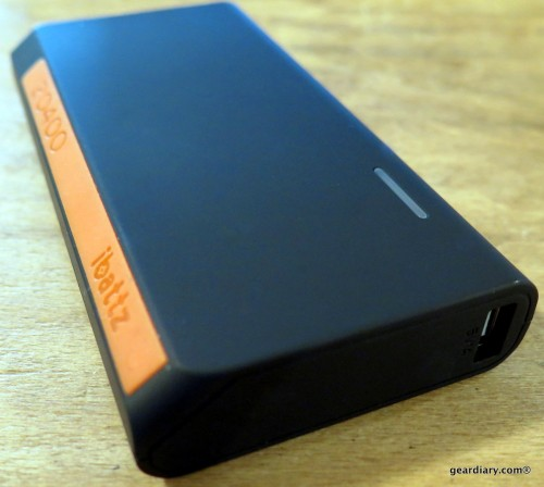 iBatzz Battstation Optimus 20400 Extended Battery
