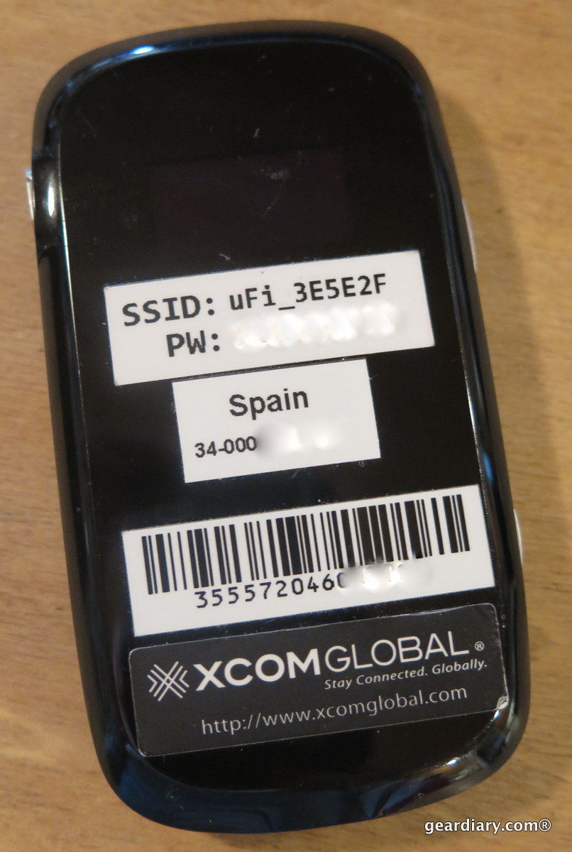 GearDiary Wireless Traveling Convenience Comes with the XCOM Global Hot Spot