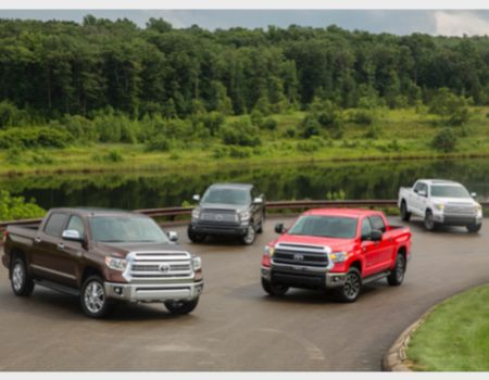 2014 Toyota Tundra family/Images courtesy Toyota