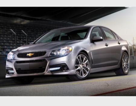 2014 Chevrolet SS/Images courtesy Chevrolet