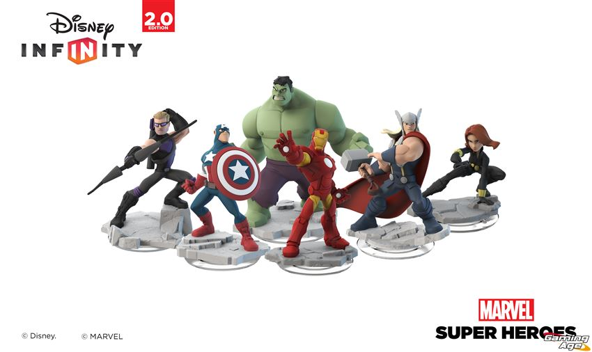 Disney Infinity: Marvel Super Heroes Announcement