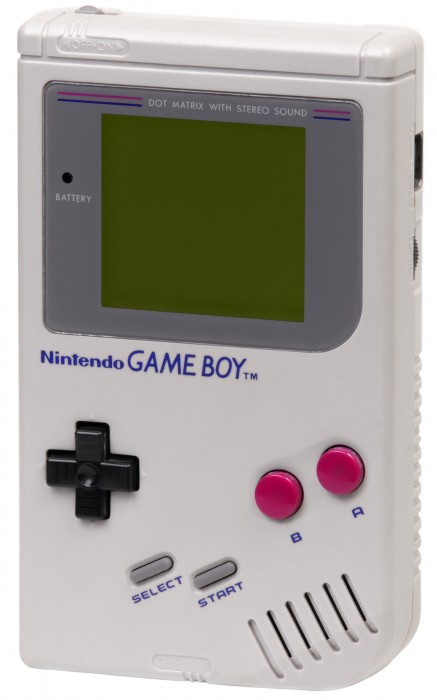 Oh, the simplicity of the original Nintendo Gameboy handheld console.