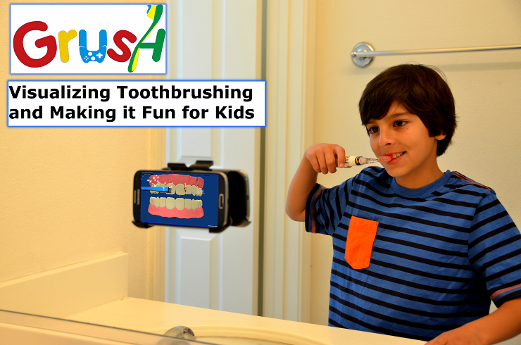 GearDiary Make Brushing Fun with Grush, the Gaming Toothbrush
