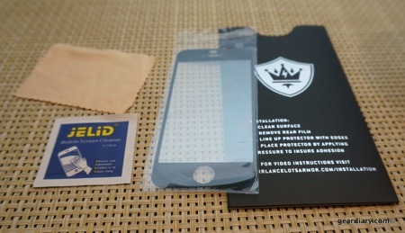 Holy Grail Tempered Glass Screen Protector