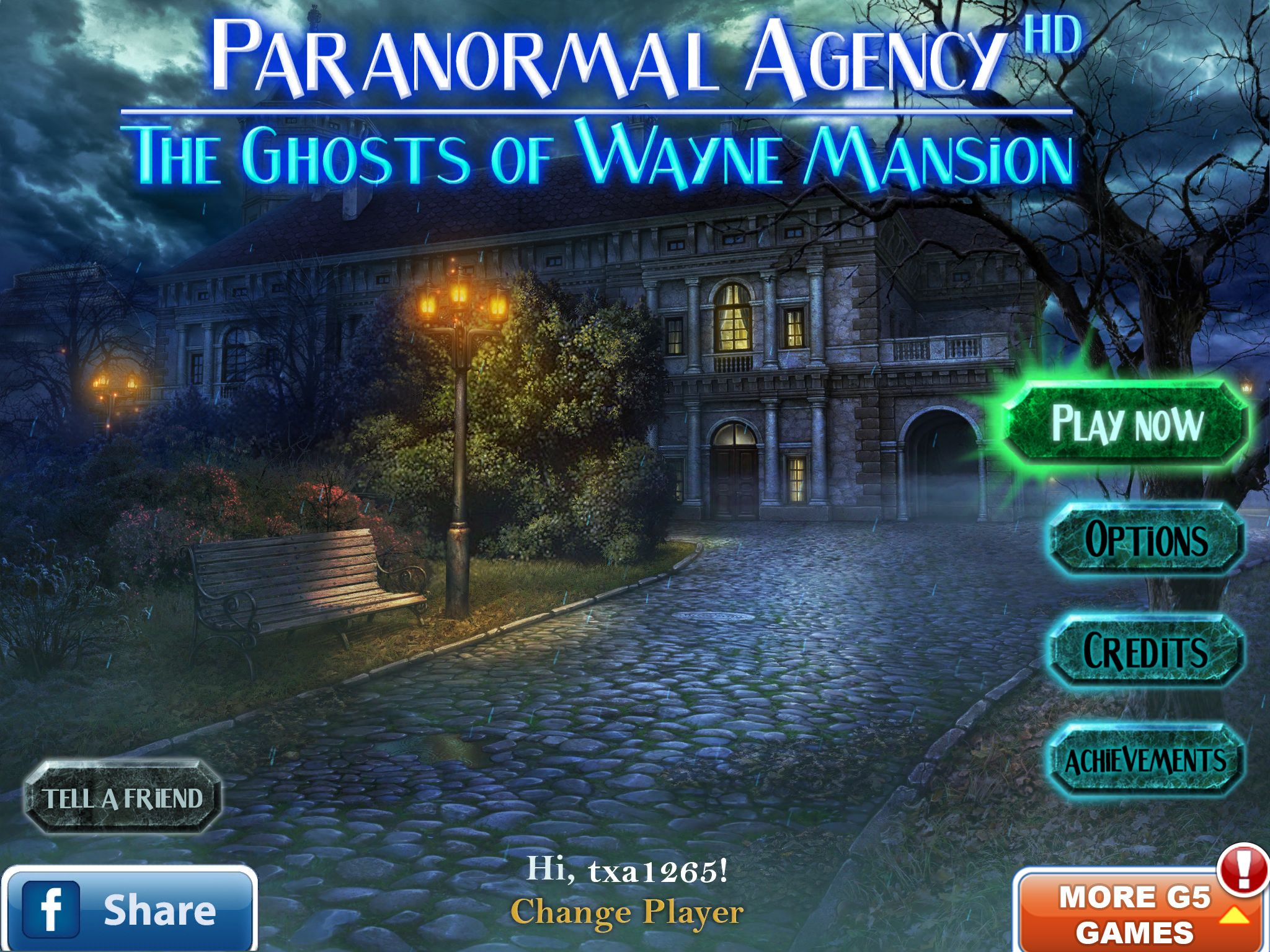GearDiary Paranormal Agency: The Ghosts of Wayne Mansion Arrives to Haunt Mac Gamers!