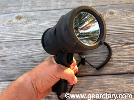 GearDiary Rayovac Virtually Indestructible LED Spotlight Review