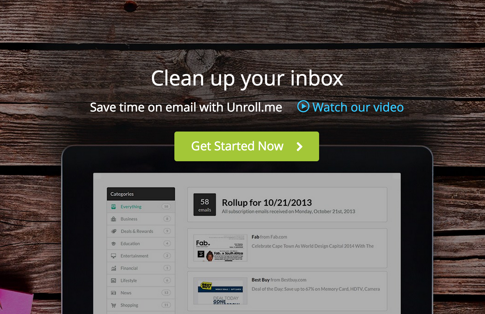 GearDiary Inbox Out of Control? Unroll.me Might Be Able to Help
