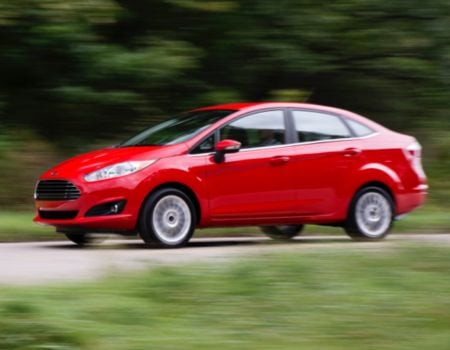 2014 Ford Fiesta/Images courtesy Ford