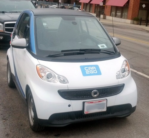 GearDiary Car2go Adds Parking for Port Columbus Airport