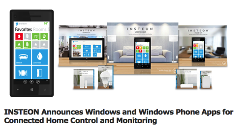 GearDiary INSTEON Connected Home System Gets Some Microsoft Love