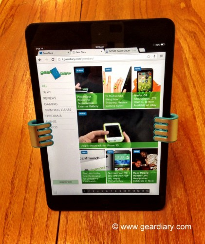 Felix TwoHands II: A New Handle on Tablet Stands