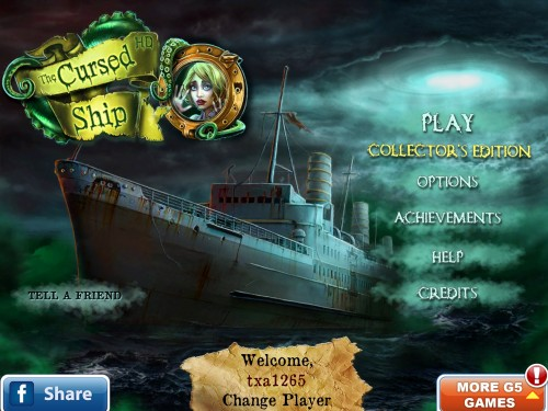 Cursed Ship Collector's Edition Comes Haunting iOS Devices!