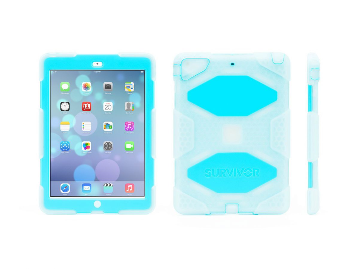 Survive Anything with the Griffin Survivor for iPad Air Case!