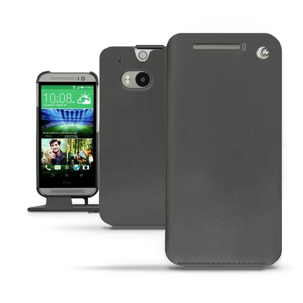 Noreve Traditional Leather Case for the HTC One M8: Leather Luxury!