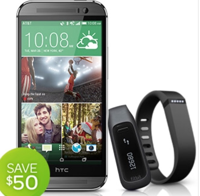HTC, Fitbit, and AT&T Save Your Wallet and Your Waistline!