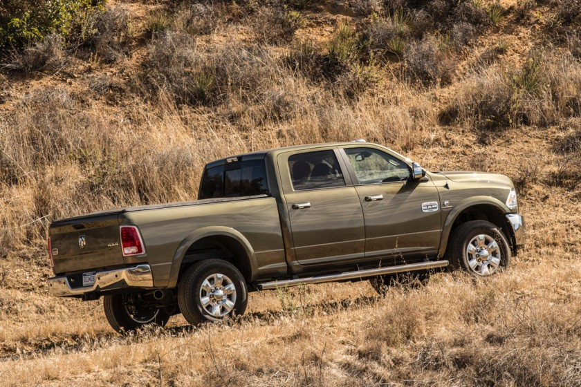 GearDiary 2014 Ram Heavy Duty Trucks: Big, Brawny, Beautiful