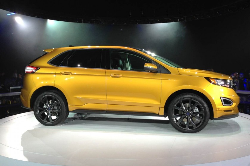 GearDiary Global Debut of the 2015 Ford Edge: Go Further with Ford Part One