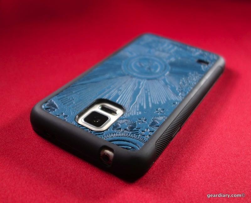 Oberon Design Samsung Galaxy S5 Leather Case