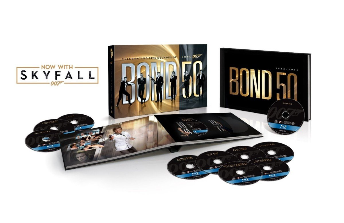 James Bond 50 Fathers Day Deal