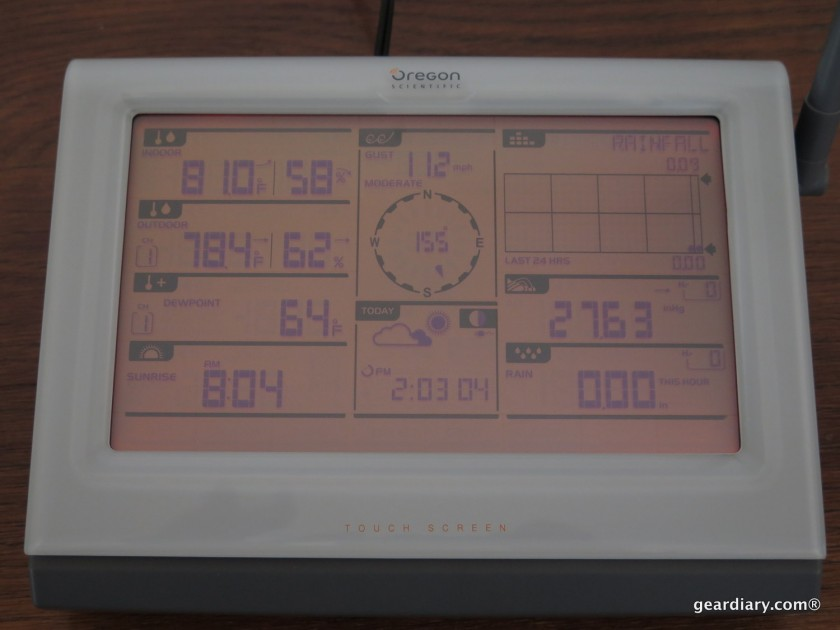GearDiary Oregon Scientific Ultra Precision Weather Station Review - Accuracy Matters