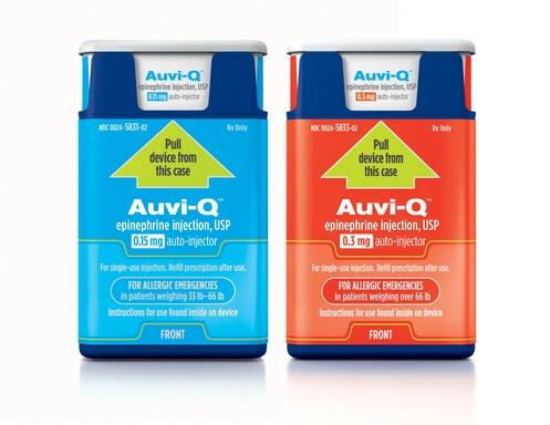 Auvi-Q is a Chatty Epi Pen Solution