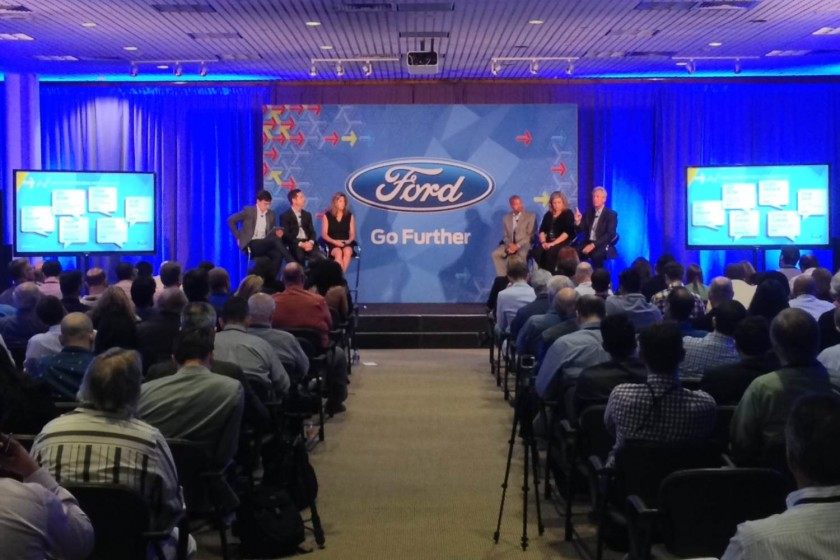 Go Further with Ford 2014, Part Two: The Sessions