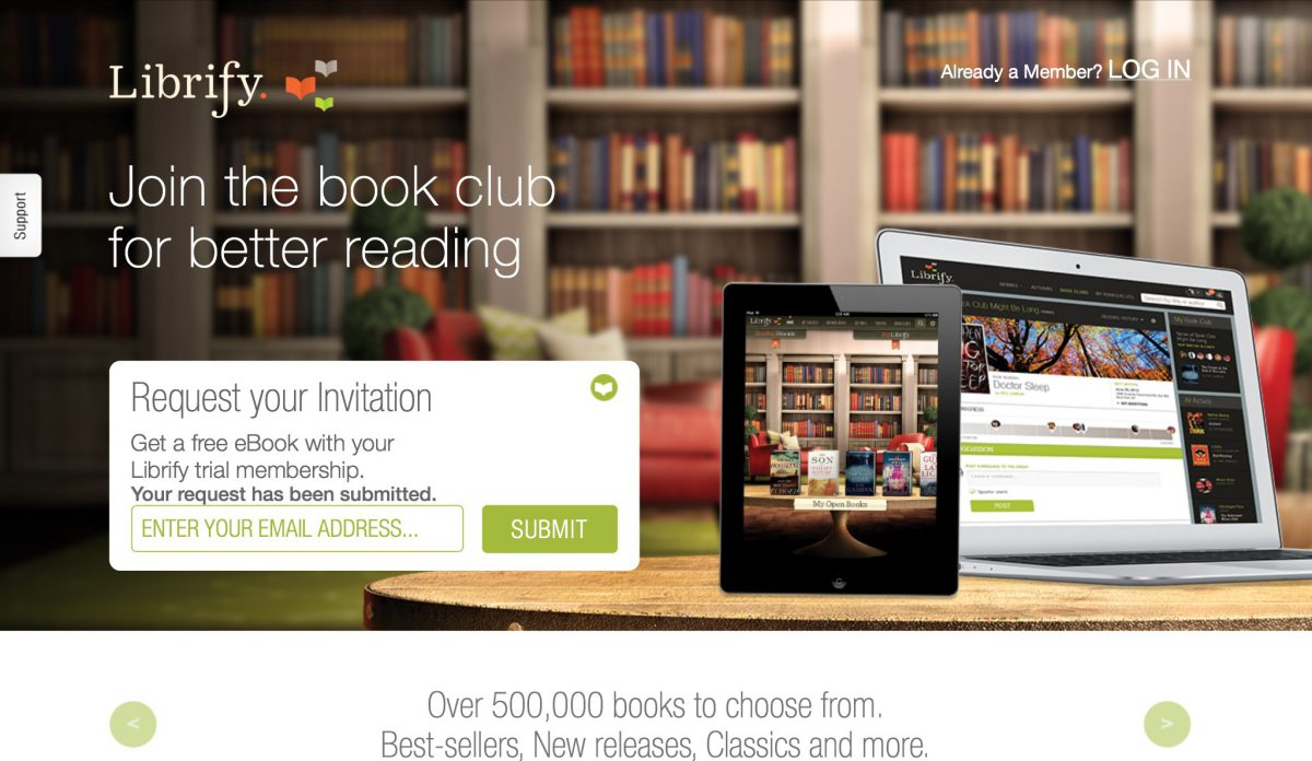 GearDiary Target and Librify Partner Up for a New Twist on Subscription Ebooks