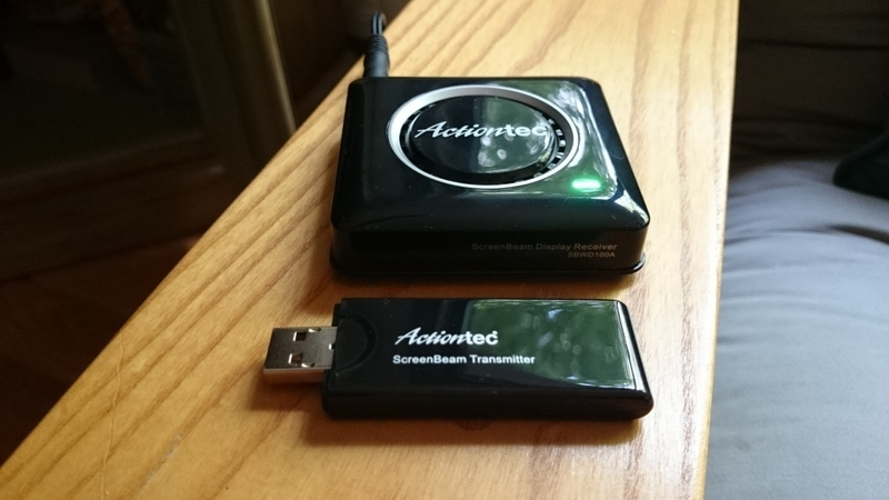 GearDiary Actiontec ScreenBeam Pro Wireless Display Receiver and Transmitter Review