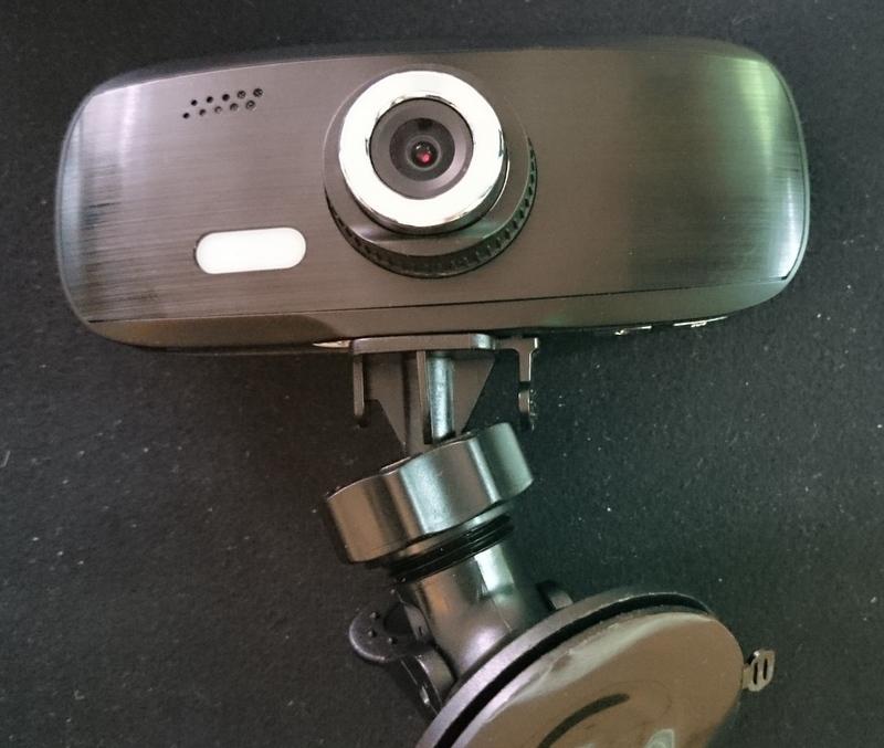 GearDiary Spytec G1W 1080P HD Car Dash Camera Review