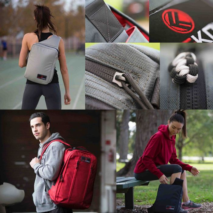GearDiary Generation Gym Bags by King Kong Apparel Campaigning on Kickstarter