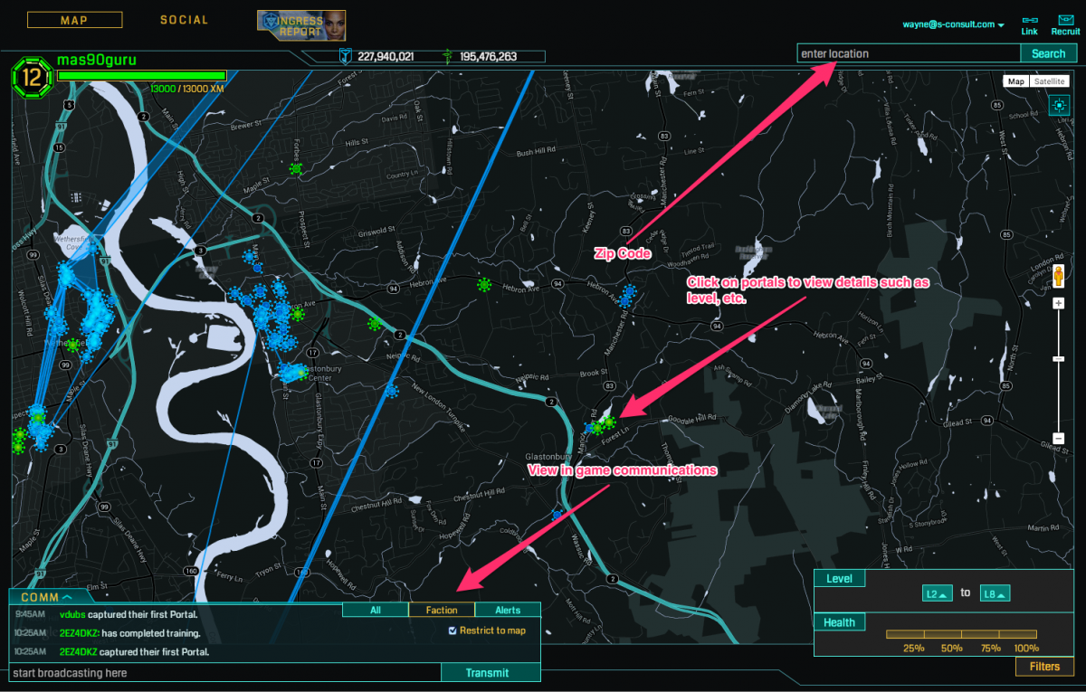 GearDiary Ingress for iOS Released: 10 Things New Players Should Know