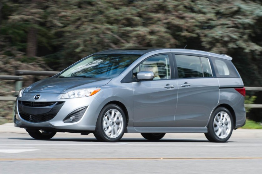 2014 Mazda5/Images courtesy Mazda
