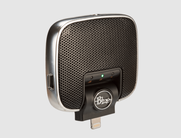 GearDiary The Blue Microphone Mikey Digital Ups Your iOS Audio Recording