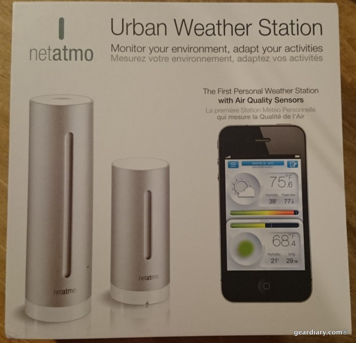 GearDiary Netatmo Weather Station: Keeping an Eye on Your Comfort
