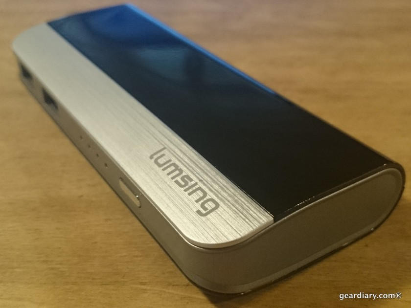 Lumsing 10400mAh Power Bank External Battery Slim and Powerful.39