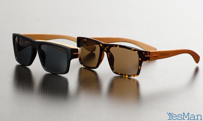 GearDiary Yes Man Sunnies - Handmade Bamboo Sunglasses on Kickstarter