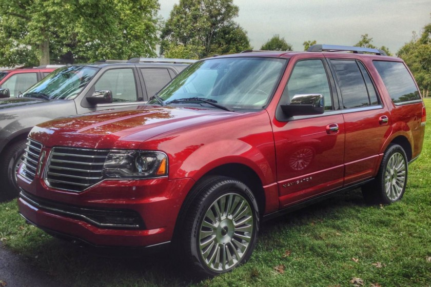 2015 Lincoln Navigator launch/Images by Author