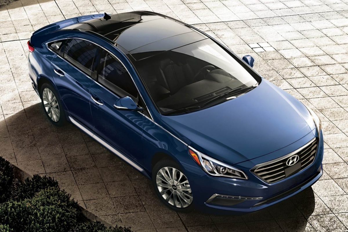 GearDiary 2015 Hyundai Sonata Midsize Sedan Is Livin' Large