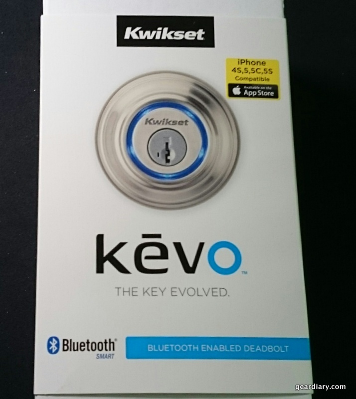 GearDiary Kwikset Kevo Is the Door Lock for the 21st Century and Beyond
