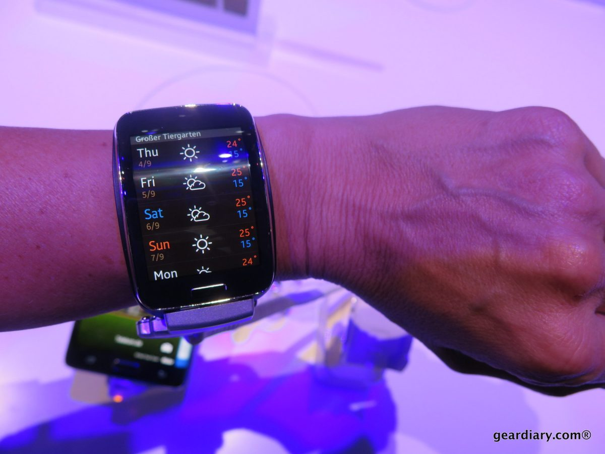 Wearables Watches Samsung Misc Gear IFA