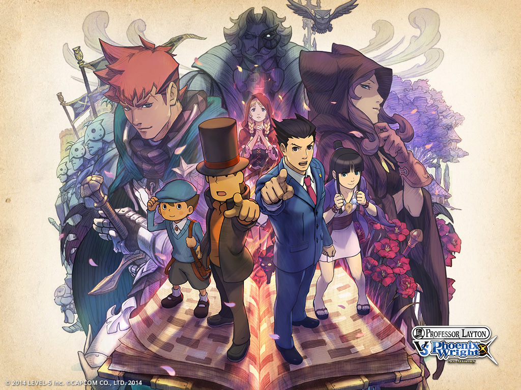 GearDiary Professor Layton vs Phoenix Wright Ace Attorney Review on Nintendo 3DS