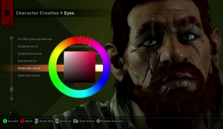 GearDiary Dragon Age Inquisition's Unique Character Creation Tool