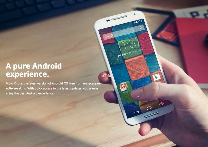 Moto X Pre-Orders Start Tuesday September 16, 2014