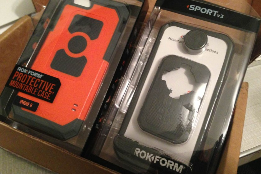 Rokform Sport v3 iPhone6 cases/Image by Author