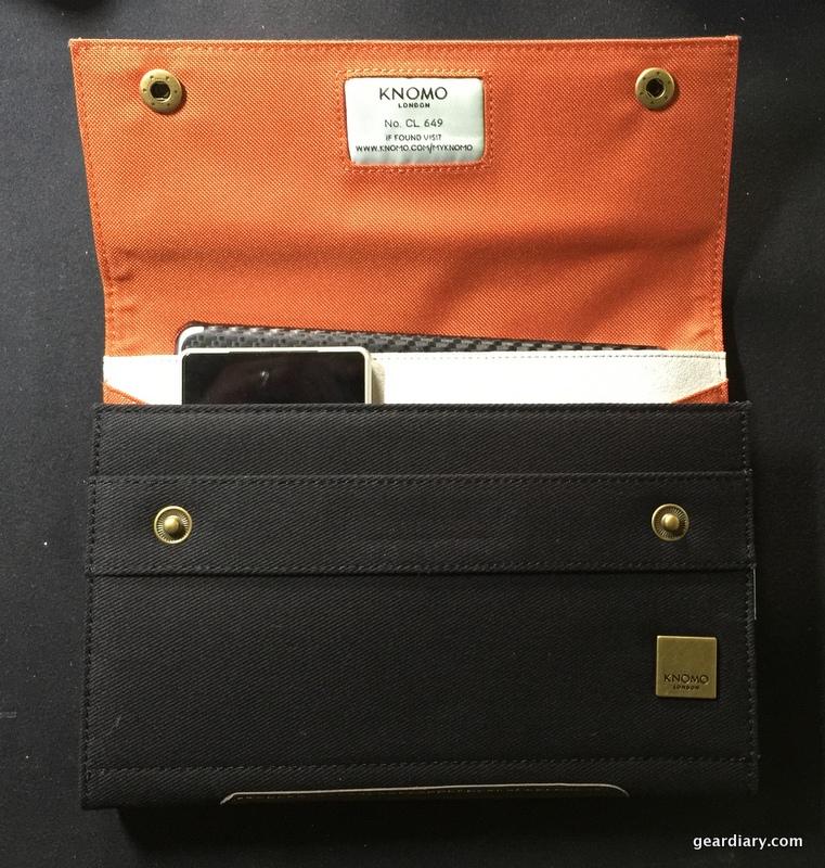 GearDiary Knomo Knomad Mini Portable Organizer Review