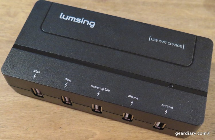 Gear Diary Reviews the Lumsing 5 Port USB Travel Charger-002