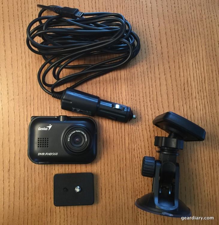 Genius DVR-FHD568 Gear Diary
